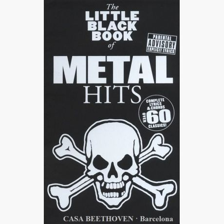 The little black book of Metal hits (Complete lyrics and chords over ...