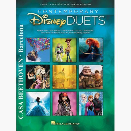 Contemporay Disney Duets (1 piano - 4 hands) (Intermediate