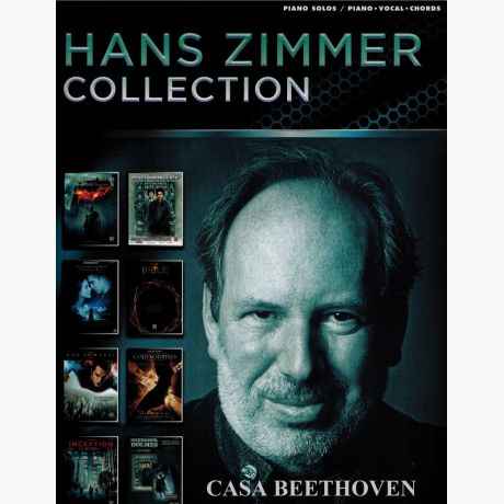 Hans Zimmer Collection Piano Solos Piano Vocal Chords Casa